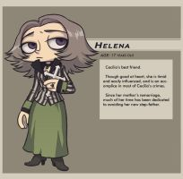 LUCIFER'S CROSS : Helena by lastlabyrinth