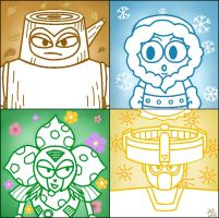 The four robot seasons by Cielodemar
