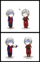 Nero, Dante and Shaver xD by TheFatalImpact