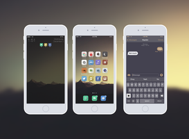 iPhone 6 Minimal Theme| iOS 8.1.1 by Indx