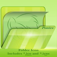 Folder Icons by RainbowDashie