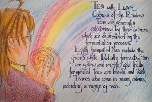 Tea with Liam - Colours of the Rainbow by SinistrosePhosphate