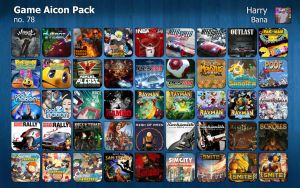 Game Aicon Pack 78 by HarryBana