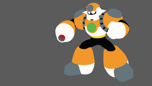 Concrete Man Minimalist Wallpaper by Oldhat104