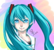 Miku by WindyKun