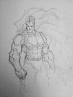 Super man commission WIP by JoeyVazquez