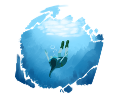 Drown in the abyss by AskHeroicHamburger