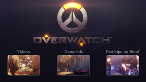 Overwatch Web Interface by rosemarie5