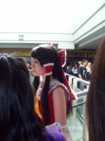 Reimu attends Convention by MissNellie