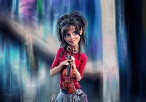 lindsey stirling by SAMEHARAFA