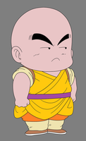 Kid Krillin - DB Pilaf Saga by CAR-TACO