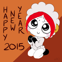 Ruby Gloom Chinese New Year 2015 by empty-10
