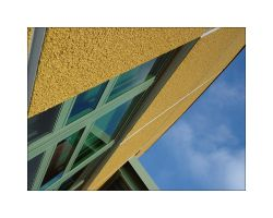 Yellow Building by carlylecastle