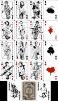 The Walking Dead Playing Cards by mafaka
