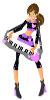 Collab Izzy Rockstar Outfit by Melonlemon