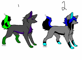 Scene Dogs {OPEN} by AvalaAdopts