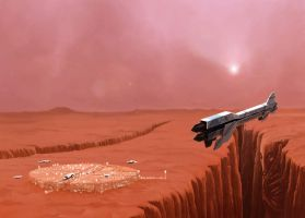 Red Planet by LePixx