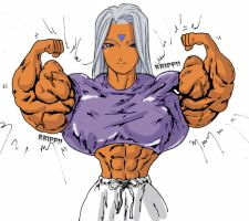 Urd's Workout Outfit 2 by muscle82002