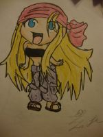 winry chibi by the-muffin-lord