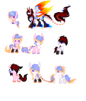 Foals for RAINBOWcolorz by korria1234