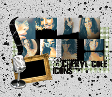 8 Cheryl Cole Icons by revallsay