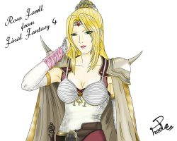 Commission:Rosa Farell from FF4 for ffiv-cecilrosa by Shin--chan