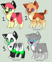 Corgi Point Adoptables - 15 points each ALL CLOSED by SpunkyRacoon