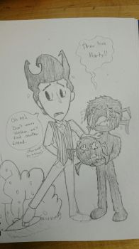 Wilson and Webber by CardboardDreamCube