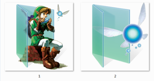 LoZ Folder Icons by Ginokami6