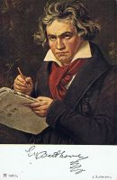 Beethoven Postcard by Zai-stock