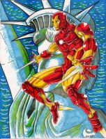 The Invincible Iron Man by JerryLSchick