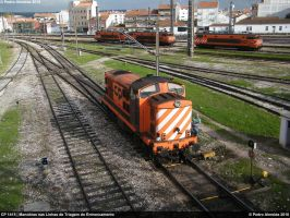 CP 1415 Shunting 111110 by Comboio-Bolt