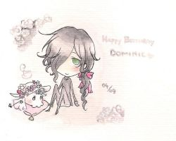 Happy Birthday, Dommy by ChocotanYuu