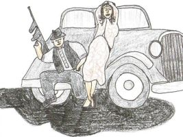 Bonnie and Clyde... by Buhla
