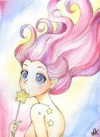 Cotton star Candy + Speed Paint by hikari--hoshi