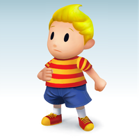 Lucas SSB4 Artwork (Fanart) by TheCreator17