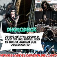 Black Veil Brides photopack by Knives-PensT