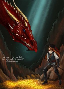 The Dragon and the Sword by NicoleCadet