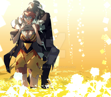 rough comissino_ transistor by muse-kr