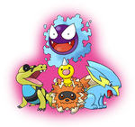 *Giveaway* Free Shiny Pokemon Set #1 (CLOSED) by TheWhiteScatterbug