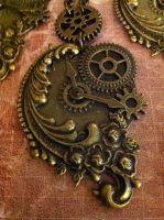 Another SteamPunk Pretty Necklace by NenaPerrill