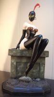 Brom Miss. Muffit and sculpture 2.0 by BaRs0m