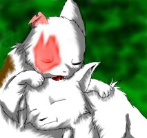 Brightheart cloudtail by warriorcats13
