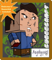 Evil Dead Ash Cubeecraft by angelyques