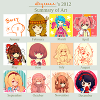 2012 Art summary by skyeera