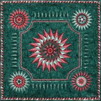 The Lily Pond by suedollinQuilts