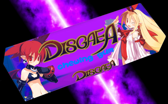 Disgaea Chewing gum by Celestial-Rogue