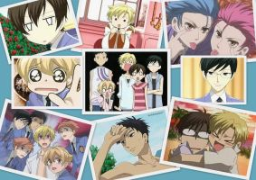 Ouran Host Club - Collaz 1 by BlueFairy123