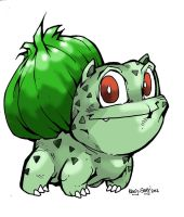 Pokemon Number 1: Bulbasaur. by Kenji-Seay