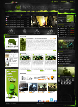 Pyro Gaming by Azul Design by Azul-Design